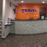 Travel Inn & Suites front desk